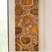 on tiki wood wall art with sliced teak wood panel wall art vivaterra