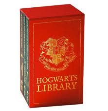 harry potter leather bound book set box set includes quidditch through the ages tales of beedle