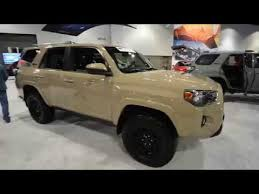 2018 toyota 4runner trd pro interior. simple toyota 2018 toyota trd pro blackout 4x4 at the denver auto show throughout toyota 4runner trd pro interior