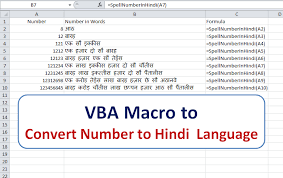 Ones Tens Hundreds Chart In Hindi Excel Vba Convert Numbers To Words In Hindi Language