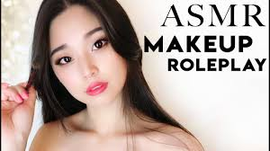 asmr traditional chinese makeup for you roleplay