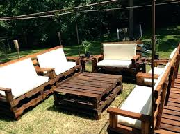 patio furniture made out of pallets decor pallet garden cushions ideas outdoor wooden couch corner dec