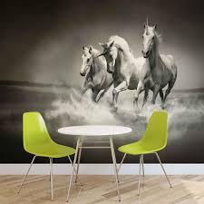 5 Fotobehang Paarden Zwart Wit 422034 Hd Wallpaper Download