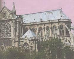Готический стиль Средневековья История Средних веков Реферат  Нотр Дам де Пари Готический собор xii xiii вв