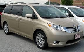 File:2011 Toyota Sienna -- 05-06-2011.jpg - Wikimedia Commons