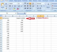 Frequency Distribution Table In Excel Easy Steps