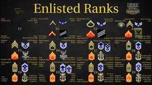 Us Military All Branches Enlisted Ranks Explained What Is A Chief Sergeant Private