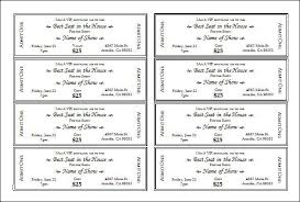 Event Ticket Template Word Event Ticket Template Word Elegant 28 Sample Amazing Event