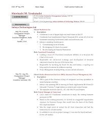 17 Sample Consulting Resume Mckinsey Bain Resume Sample