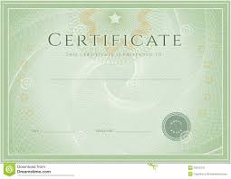 degree certificate templates certificate diploma award template grunge patte stock vector