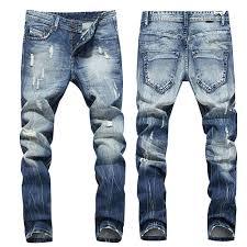 Designer Pants Details About 2020 Vintage Men Designer Trousers Jeans Straight Leg Slim Fit Wash Denim Pants
