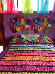 Rainbow Zebra Bedroom Accessories Design Ideas