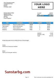 Bill Of Sale For Business Simple Sales Invoice Template Excel Sales Invoice Template