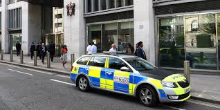 a police car is parked outside the london stock exchange in london britain august 15 2017 reuters neil hallneil hall reuters