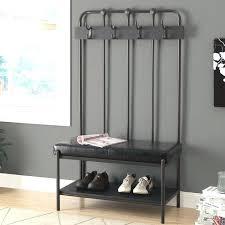 Free Standing Coat Rack With Bench coat rack with bench kulfoldimunkaclub 49