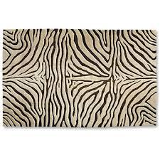 wool rugs zebra print area rug orvis