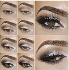 browns eye make up