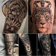 картинки тату лев