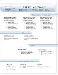 Free Resume Templates Microsoft Word Download Free Resume Templates For Microsoft  Word Free Cv Template Ideas