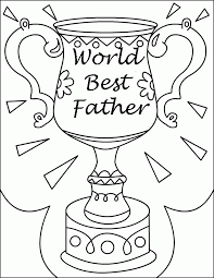 Children can add thei rown border to the card. Fathers Day Coloring Pages Kids Coloring Home