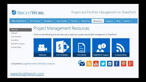 Project Management Templates Free Sharepoint 2013 Project Management Template Youtube