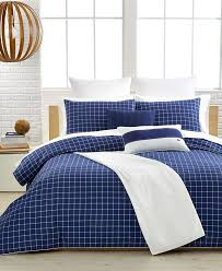 lacoste denab navy comforter and duvet cover sets bedding collections bed bath