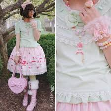 when it was still possible to wear without melting lol coord rundown bow angelic pretty wig taobao cutsew line skirt the world s