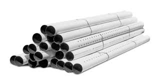 stacked ads 3000 triple wall smoothwall pipes made of polyethylene for leach field drainage