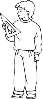 Small Picture A Boy Carrying His Lunch and Backpack coloring page Free