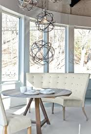 full image for dining table with banquette round dining room tables and curves sofa dining room