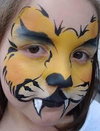 lion face paint and more löwe schminken