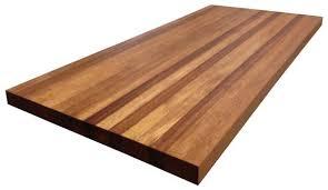 african mahogany butcher block countertop edge grain kitchen island top custom sizes available