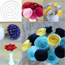 How To Make The Paper Flower How To Diy Easy Swirly Paper Flower