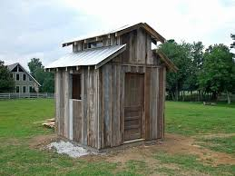 free outhouse plans unique idea for well pump house