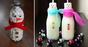 Christmas Decorations Made Out Of Plastic Bottles Handmade christmas crafts 100 ways to recycle glass bottles 12