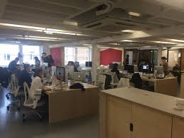 airbnb office london. A Section Of Airbnb\u0027s New London Office.Business Insider/Sam Shead Airbnb Office London