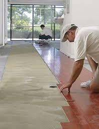 how to install wood floors on concrete slab