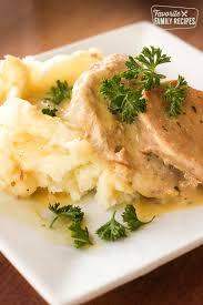 easy crock pot pork chops favorite