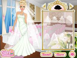 barbie red wedding dress up games photo 2