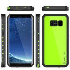 Samsung Galaxy S8 Green Light Galaxy S8 Waterproof Case Punkcase Studstar Light Green Thin