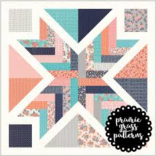 142 Starburst Quilt Pattern {PAPER} | Prairie Grass Patterns & next prev Image of #142 Starburst Quilt Pattern {PAPER} Adamdwight.com
