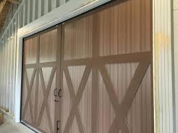 barn door brush seal installation by jacor inc