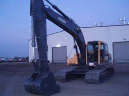 volvo ec210b lc hydraulic excavator item view