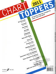 Chart Toppers Of 2011 Charts Toppers 2011 Buy Now In Stretta Sheet Music Shop