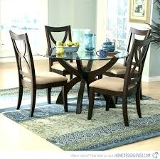glass top dining table set 4 chairs round glass dining table set casual style beyond s
