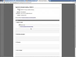 Microsoft Office Agenda Template Meeting Agenda And Meeting Minutes Templates Youtube