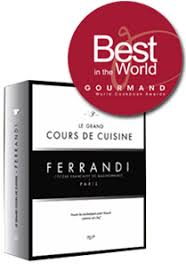 Cooking Book Grand Cours De Cuisine Ferrandi Paris