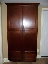 Tall Kitchen Utility Cabinets Kitchen Free Standing Kitchen Pantry Cabinet With Wooden Tall