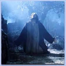 Image result for picture of jesus in gethsemane garden
