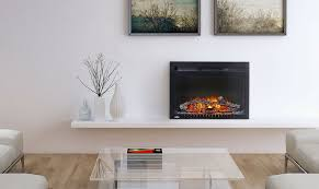 napoleon cinema 24 in electric fireplace insert nefb24h modern inserts canada intended for 13